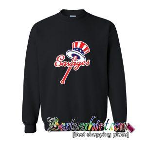 Tommy Kahnle Yankees Savages America Flag Sweatshirt (BSM)