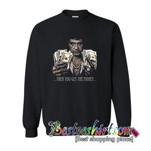 Tony Montana Money Scarface Movie Sweatshirt (BSM)