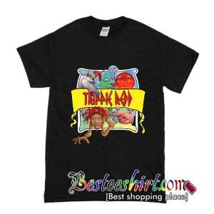 Trippie Redd Cartoon T Shirt (BSM)
