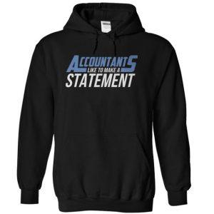 Accountants like to make a statement Hoodie (BSM)