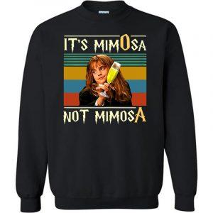 FUnny Halloween With It's Mimosa Not Mimosa Sweatshirt (BSM)