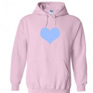 Love Blue With Pink Hoodie (BSM)