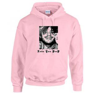 Love You Peep Pink Hoodie (BSM)