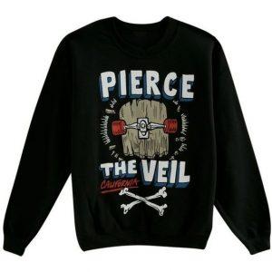 Pierce The Veil Skateboard Crewneck Sweatshirt (BSM)