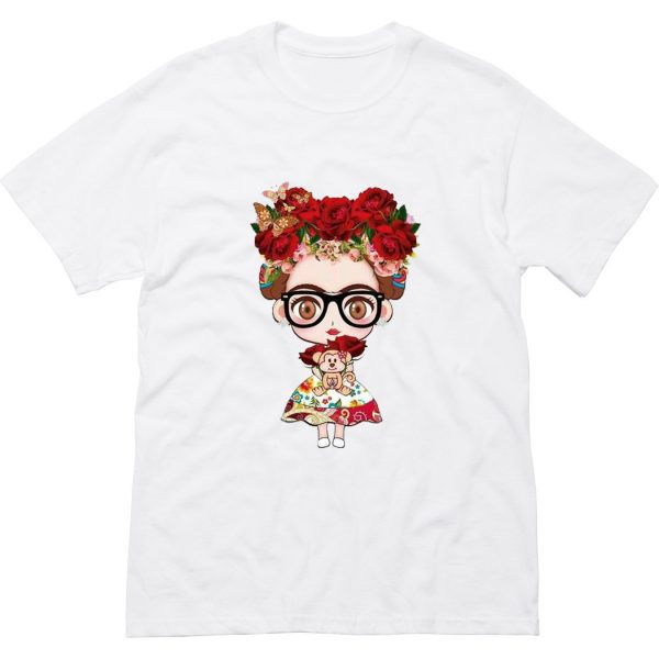 Charismatic Frida Kahlo Cute T-Shirt (BSM)
