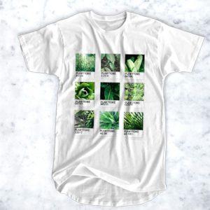 Planttone Plants Leaf Color T Shirt (BSM)