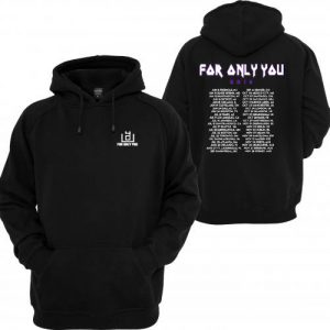 4OU World Tour 2016 Black Front and Back Hoodie (BSM)