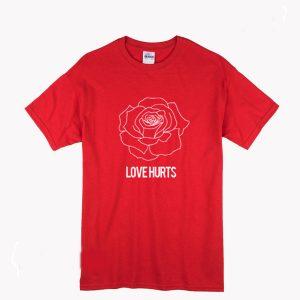 Rose Love Hurts T Shirt (BSM)