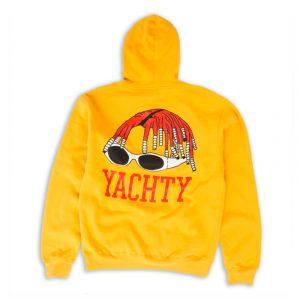Yachty Yellow Back Hoodie (BSM)
