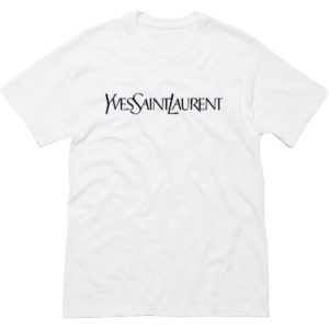 Yves Saint Laurent White T Shirt (BSM)