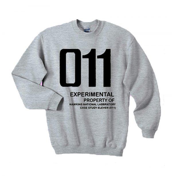 011 Experimental property of hawkins national laboratory sweatshirt (BSM)