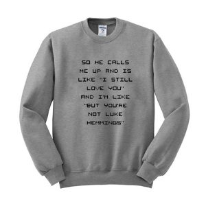 5sos fam luke hemmings sweatshirt (BSM)