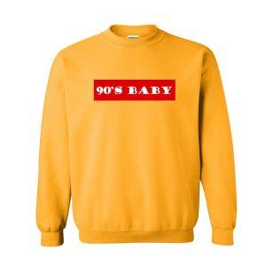 90s Baby Font Sweatshirt (BSM)