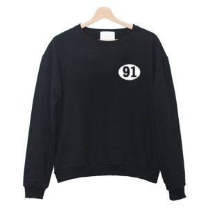 91 Number Sweatshirt (BSM)
