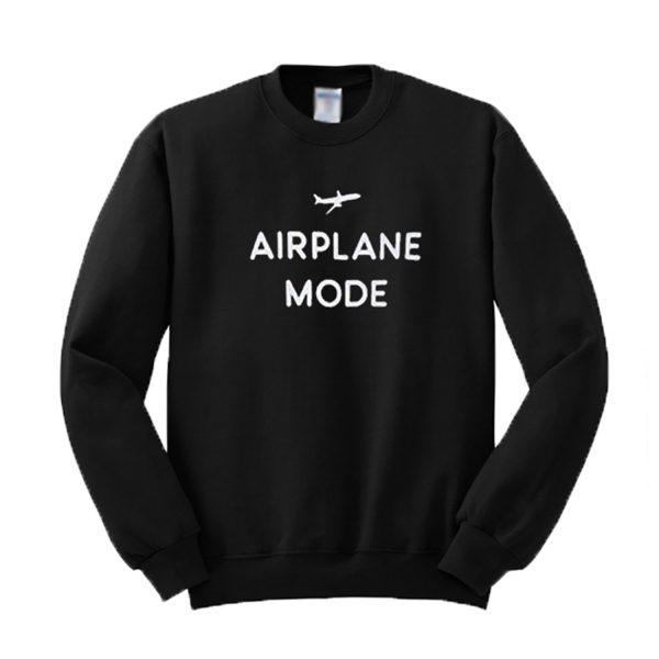 Airplane Mode Graphic Sweatshirt (BSM)