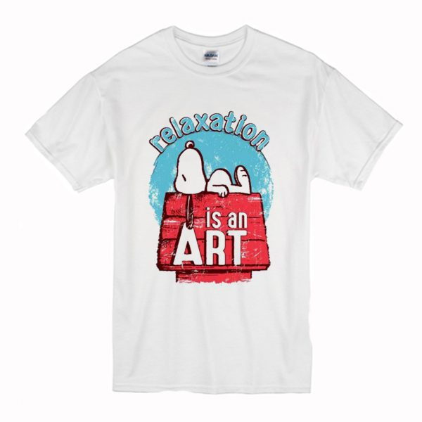 Relaxation Is An Art Snoopy T Shirt (BSM)