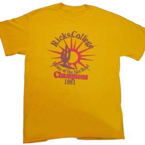 Ricks College T-Shirt (BSM)