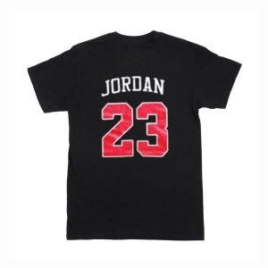 Bulls 23 Michael Jordan T-Shirt Back (BSM)